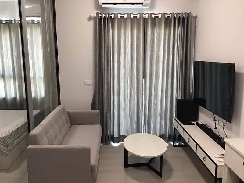 Code 381 Condo for rent Chapter One Shine Bangpo (Chapter One Shine Bangpo) 1 bedroom.