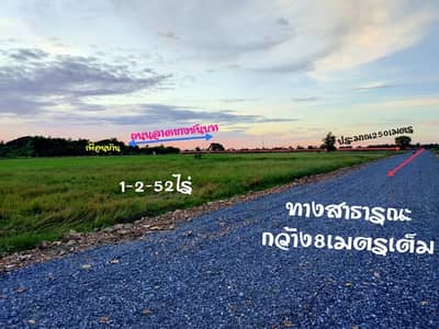 Land for Sale in Mueang Suphan Buri, Suphanburi - 1-2-52ไร่