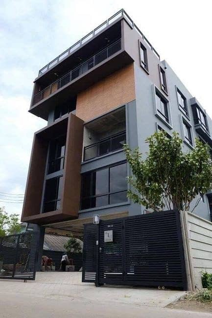 Home office for rent in Laksi area, Ngamwongwan area 1000 sq m. Loft Style with elevator.