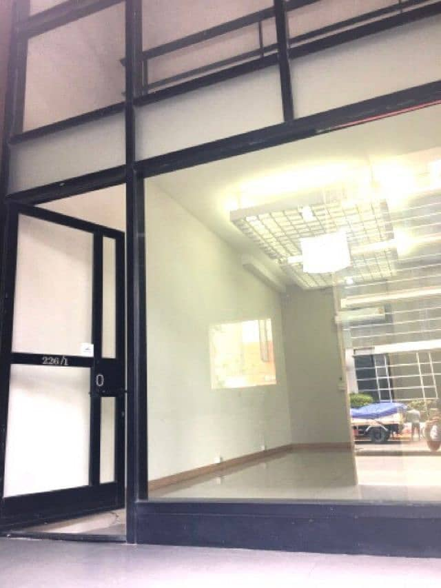 2-storey building for rent, Building 1, Riviera Lake View Condo, Muang Thong Thani, Bond Street, good location, on the road, suitable for offices, offices and shops near IMPACT