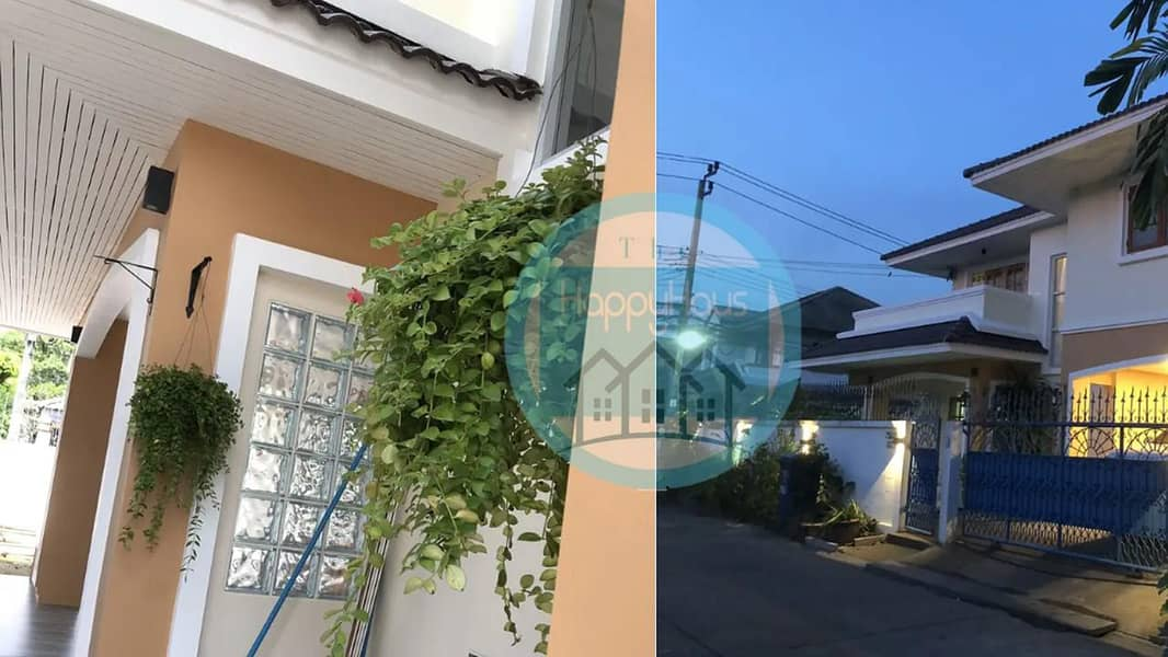 H406-Sale!! House at Thong-Sathit Village, Lat Phrao Area