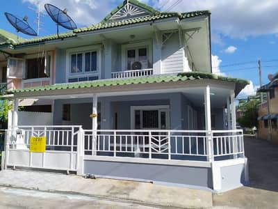 3 Bedroom Townhouse for Sale in Khlong Luang, Pathumthani - ขายบ้าน ม. พฤกษา 12
