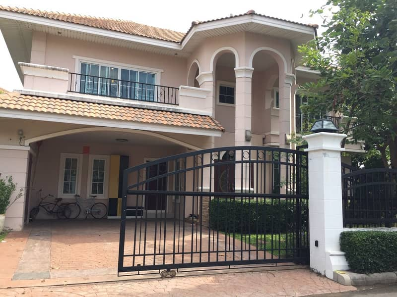 House for sale, 5 bedrooms, 4 bathrooms, the Venice Park Nakhon Ratchasima