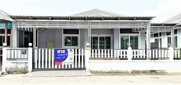 3 Bedroom Home for Sale in Kaeng Khoi, Saraburi - House for sale with modern style 58 Scw. in Modern house village