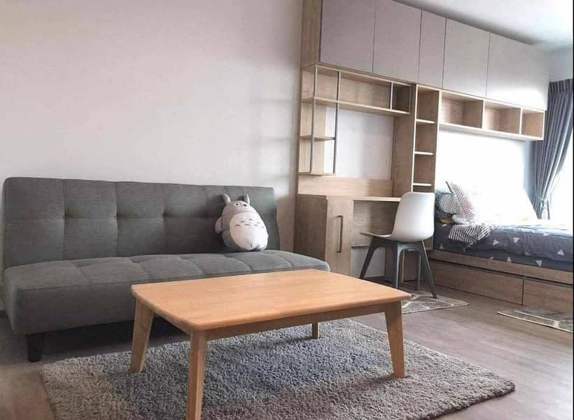 8,000. - Condo for rent, Regent Home Bang Son, next to MRT Bang Son station.