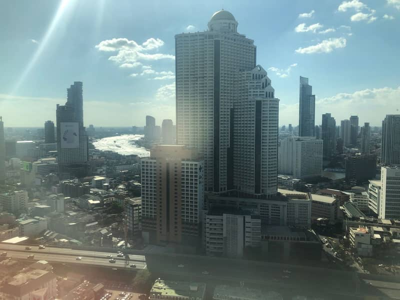 Office space for rent, Jewelry trade center building, Jewelry trade center building, Silom size 106 sqm, 31st floor, BTS Surasak size 106 sqm.