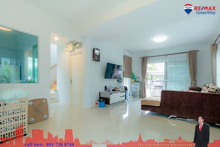 3 Bedroom Home for Sale in Phutthamonthon, Nakhonpathom - Selling a single house 50 square meters, Innisio Salaya, very good condition, near Mahidol University, Salaya at a good price.