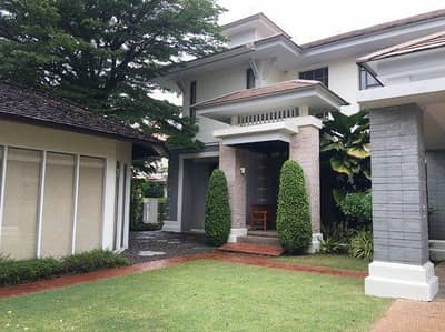 5 Bedroom Home for Rent in Suan Luang, Bangkok - 2 storey detached house for rent, Pattanakarn 54 road, area 138 square wah, 4 bedrooms, 4 bathrooms, 1 maid room, rental price 95,000 baht per month.