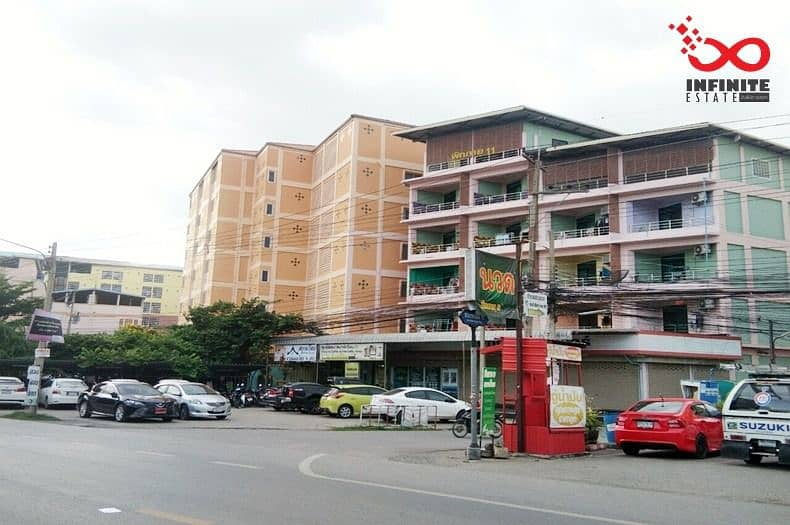 Selling commercial buildings, rooms for rent, 6 floors, Phaholyothin Road, Soi Phayom 11
