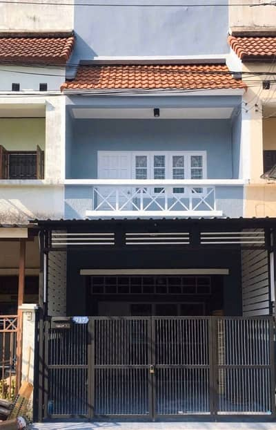 3 Bedroom Townhouse for Sale in Mueang Nakhon Nayok, Nakhonnayok - 2-storey townhouse for sale (beautiful, ready), area of 18 sq m. Chom Fah - Warangul, Rangsit Klong 3, 3 bedrooms, 2 bathrooms