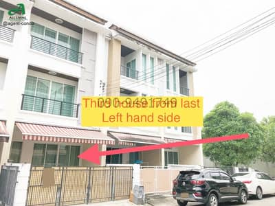 3 Bedroom Townhouse for Rent in Chom Thong, Bangkok - Rent 3-storey townhome, Baan Klang Muang Sathorn-Taksin 2, beautiful house, ready to move in, near BTS Wutthakat