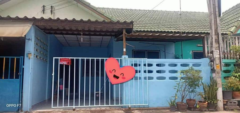One-story townhouse, Muang Thong Land Village Soi 9.