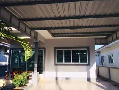 2 Bedroom Home for Rent in Mueang Chon Buri, Chonburi - Single house for rent Homeland Village, 50 square wa, Napa Subdistrict, Mueang District, Chonburi Province