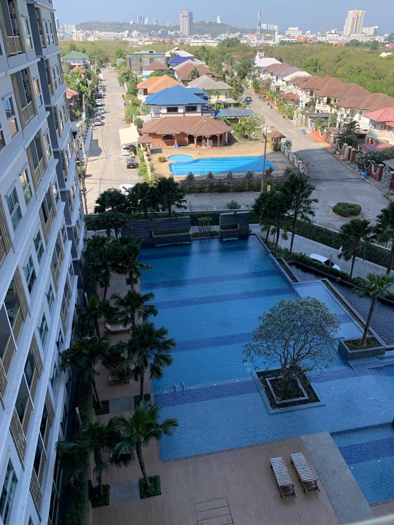 Condo for rent, The Trust, South Pattaya, welcome to recruit agents, contact 085-100-8101 Ben