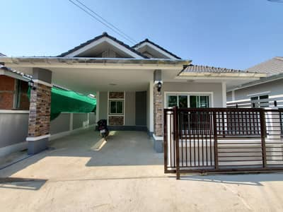 3 Bedroom Home for Sale in Doi Saket, Chiangmai - CL0219  Single storey house for sale. Only 10-15 minutes with 3 bedrooms,2 toilets, usable area of   56 sq m.
