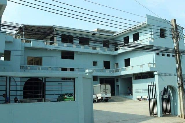 RK020 Land for rent 500 sq m, with warehouse, usable area 2,500 sq m, Soi Prawit and Friends 19