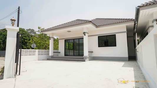 3 Bedroom Home for Sale in Saraphi, Chiangmai - CN0152  Single-storey house for sale. Only 10-15 minutes with 3 bedrooms,2 toilets, usable area of 47.7 sq m.