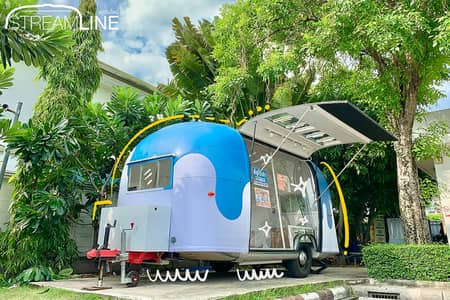 Commercial Space for Rent in Lat Phrao, Bangkok - Airstream & Rental Space at PTT