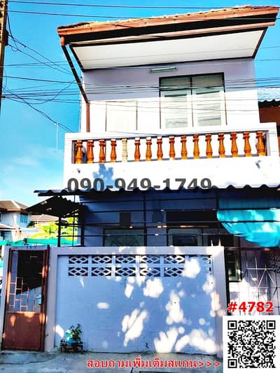 6 Bedroom Townhouse for Rent in Phasi Charoen, Bangkok - For rent, 2-storey twin house, Petchkasem 48, Bang Waek 104, in the heart of the city of Thonburi.
