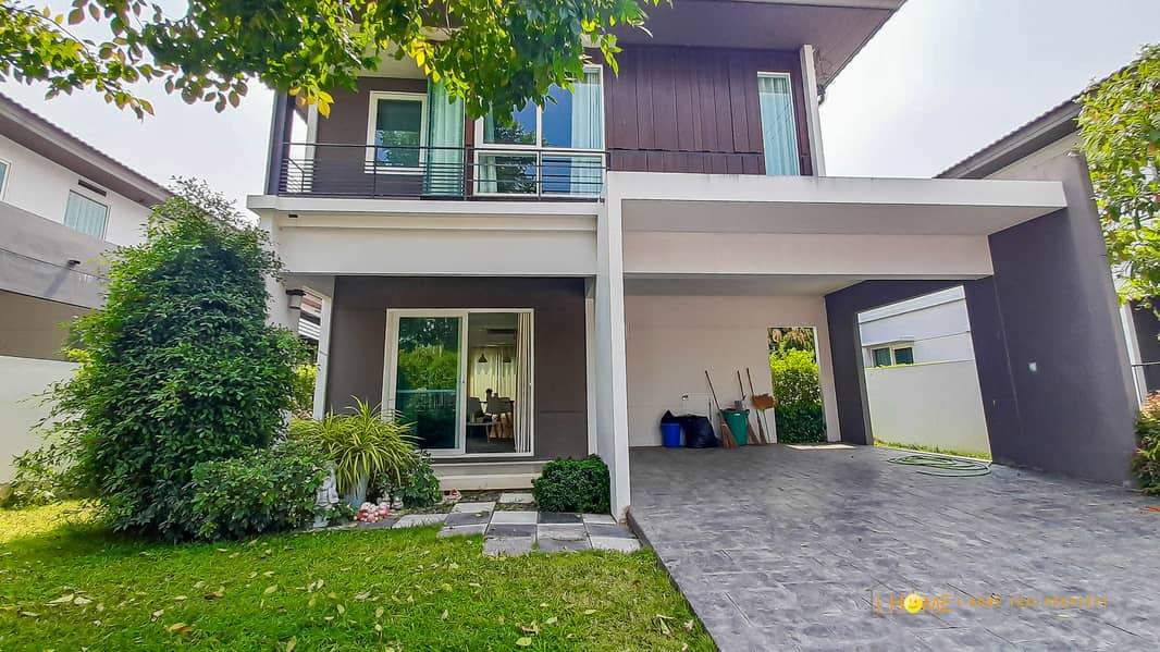 CM0343  A house for sale with 3 bedrooms,2 toilets. The price is at THB 3.4 million.