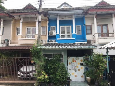 2 Bedroom Townhouse for Sale in Bang Bua Thong, Nonthaburi - 2 storey townhouse for sale, the emerald park village 2