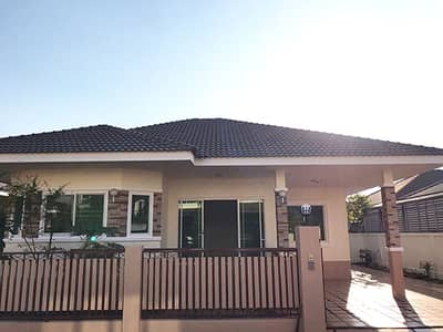 3 Bedroom Home for Sale in Doi Saket, Chiangmai - CM0320  Single storey house for sale. Only 10-15 minutes with 3 bedrooms,2 toilets, usable area of   60 sq m.