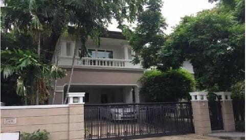 2-storey detached house with furniture for rent 85,000 per month (sold 40 million) Ladawan Village Ramintra on the main road Ramintra Km 2 Land and House.