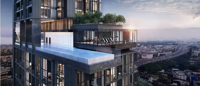 2 Bedroom Condo for Sale in Pathum Wan, Bangkok - Condo for sale, Cooper Siam, 1st hand, 2 bedrooms, size 50 sq. m. , new room, near BTS National Stadium Station
