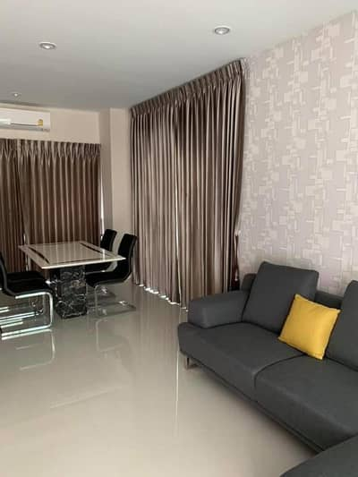 3 Bedroom Townhouse for Rent in Bang Kruai, Nonthaburi - Code 150 3-storey townhome for rent. Feel the mood of a single house. Modern design behind the corner
