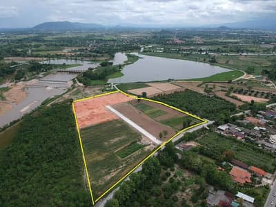 Land for Sale in Mueang Chiang Rai, Chiangrai - 2 rai of land for sale up next to the lake view of the Kok River