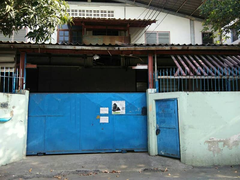 For sale-rent factory warehouse in Soi Wichian Prachauthit 33 intersection 25.