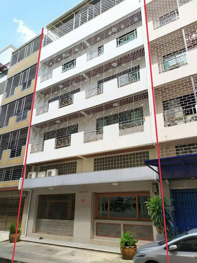 5.5 storey commercial building for sale, beautiful interior, no condition, Chan Road 27, Thung Wat Don Subdistrict, Sathorn District, Bangkok