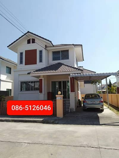 3 Bedroom Home for Rent in Mueang Chiang Mai, Chiangmai - Two-storey house for rent.