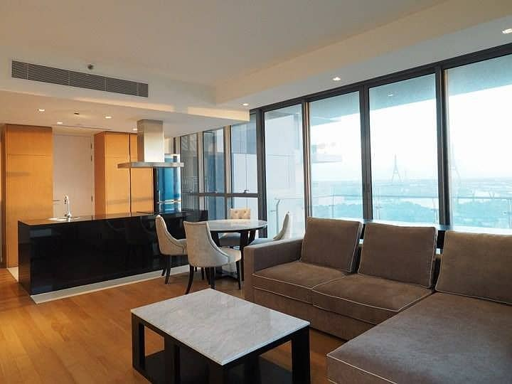 C274-The Pano Rama3 for Rent Unit 120 sqm. 2Bed Rent 75,000 THB.