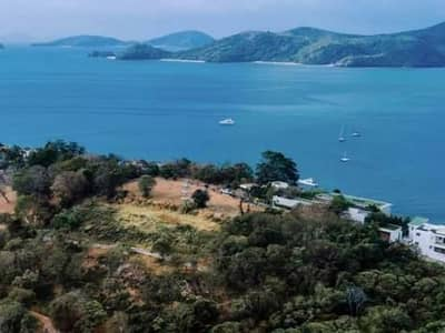 Land for sale by the sea Below the Phuket appraisal price
