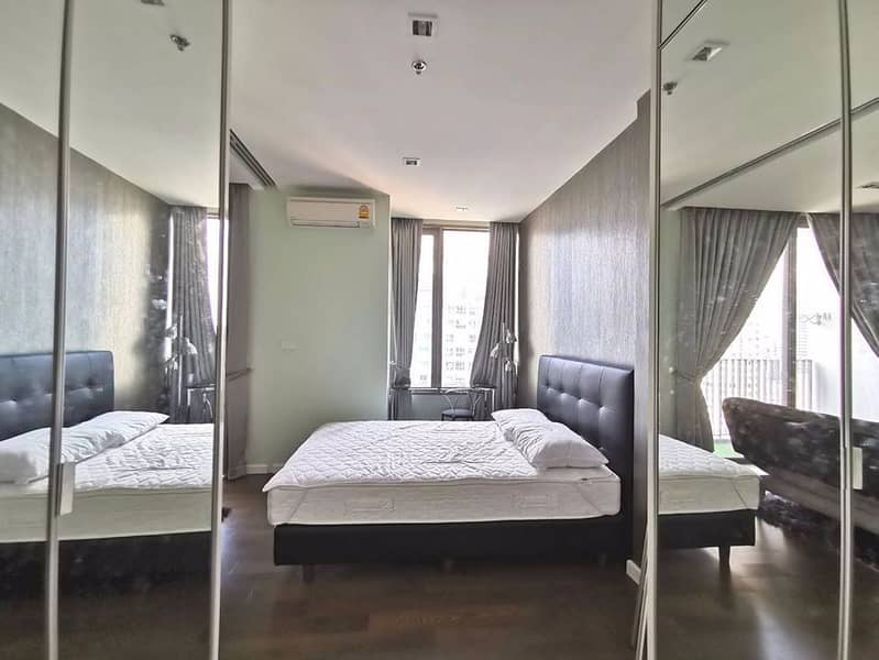 Urgent for rent, Nara 9, fully furnished, ready to move in, beautiful decoration, good price, irony in the heart of the city