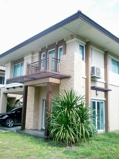 5 Bedroom Home for Rent in Lam Luk Ka, Pathumthani - 2 storey detached house for rent, Warabodin Village, Lam Luk Ka Khlong 5, next to Big C and Home Pro Zone Kalapapruek, behind the corner of Area 100 sq m.