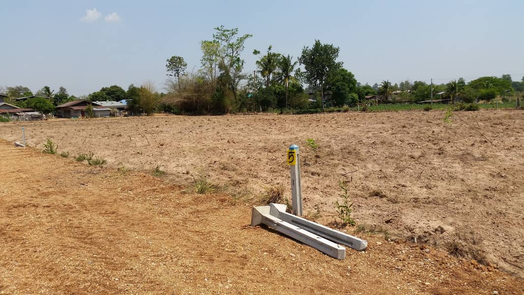 Land for sale 3 ngan, 85 sq m, near Khon Kaen, Chiang Yuen District, has electricity, water (special price only 4 plots)