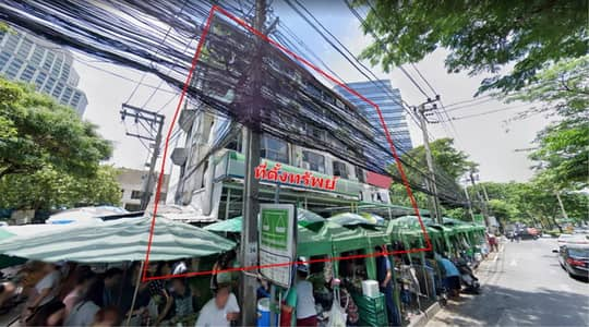 Land for Sale in Pathum Wan, Bangkok - 39656 Land for sale, Witthayu Road, Plot size 138 square meters.