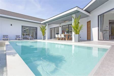 4 Bedroom Home for Rent in Mueang Phuket, Phuket - Luxury 4 Bedroom Pool Villa for Rent in Nai Harn