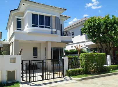 3 Bedroom Home for Sale in Bang Kruai, Nonthaburi - Cheap sale, twin houses, Life University, Bangkok Boulevard, Rama 5, newly renovated, ready to move in, good location, near Rama 5 Bridge, convenient to travel