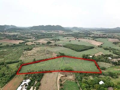 Land for sale in Khao Yai, Pong Ta Long Subdistrict, Pak Chong District, 21 rai, the most beautiful mountain view, the cheapest in this area.