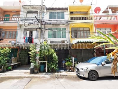Commercial Building for Sale in Dusit, Bangkok - 3-storey commercial building, Pracharat Sai 1, Soi 20