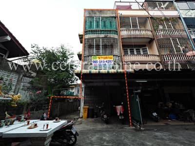 Office for Sale in Bangkok Noi, Bangkok - 3.5-storey commercial building, Thip Village, Soi Charansanitwong 37