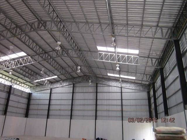 Building a ready-made warehouse And warehouses for rent across the country