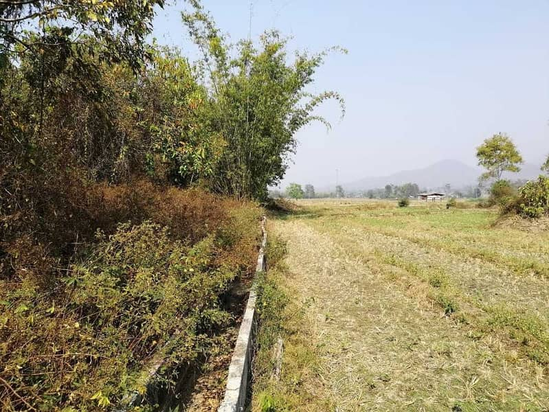 Land for sale in the area of 4 rai 57 square wa, Pai District, Mae Hong Son Province