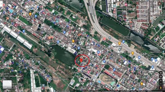 Land for Sale in Prawet, Bangkok - Land for sale 47 square meters, cheap price, near the light yellow line. Srinakarin area Near Baan Klang Muang project, convenient to travel