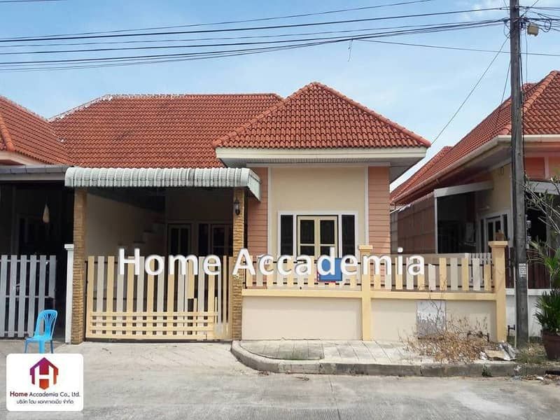 Urgent sale, twin house, 42.5 square meters, Chaofa Garden Home 3 project (Koh Kaew), Phuket