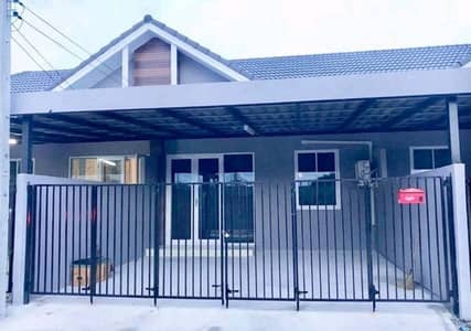 2 Bedroom Townhouse for Rent in Nikhom Phatthana, Rayong - For rent, Ananakorn 9, Industrial Estate, Soi 9, New Town House