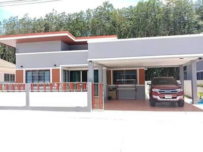 3 Bedroom Home for Rent in Nikhom Phatthana, Rayong - House for rent, house, 58 sq m.